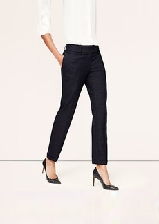Tall Pindot Cuffed Ankle Pants in Julie Fit