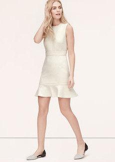 Tall Scuba Flounce Dress