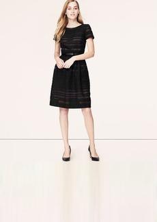 Tall Sheer Stripe Dress
