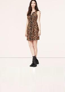 Tall Sleeveless Leopard Print Dress