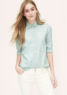Torched Chambray Softened Shirt