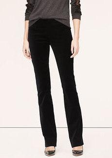 Velvet Boot Cut Pants in Marisa Fit