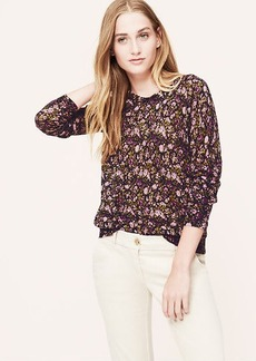 Woodsy Floral Sweater