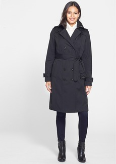London Fog Double Breasted Trench Coat with Detachable Liner (Online Only)