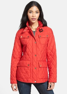 London Fog Four-Pocket Quilted Jacket