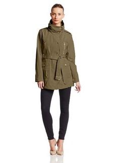 London Fog Heritage Women's Belted Short Coat