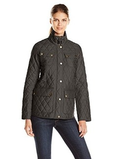 London Fog Heritage Women's Quilted Barn Jacket
