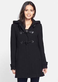 London Fog Hooded Toggle Duffle Coat (Online Only)