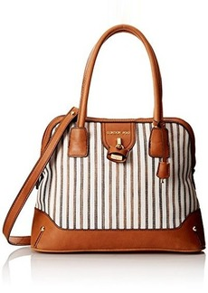 London Fog Lark Dome Top Handle Bag
