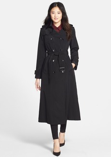 London Fog Long Trench Coat with Removable Hood (Online Only)