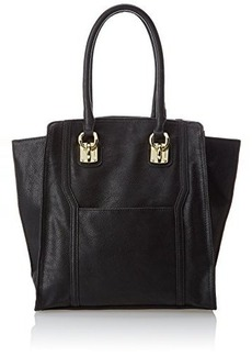 London Fog Madison Vinyl Top Handle Bag