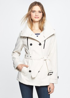 London Fog Zip Detail Trench Jacket