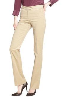 Loro Piana beige 'Annet 2000' stretch corduroy pants