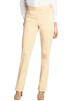 Loro Piana beige 'Annet Las Palmas' cotton straight leg pants
