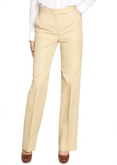 Loro Piana beige 'Ghibli' colored cotton pants