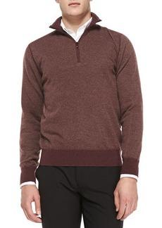 Loro Piana Cashmere Roadster Half-Zip Sweater  Cashmere Roadster Half-Zip Sweater
