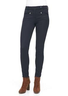 Loro Piana Devin Stretch Cotton Pants, Catalina Blue