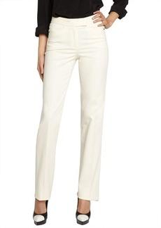 Loro Piana ivory 'Annet Las Palmas' cotton wide leg pants