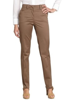 Loro Piana light brown cotton straight leg jeans