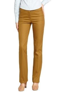 Loro Piana mustard cotton 'Anny F.P.' straight leg pants