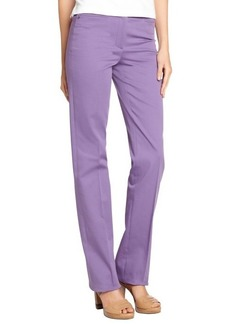 Loro Piana purple 'Annet Las Palmas' cotton wide leg pants