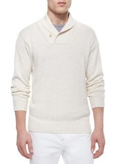 Loro Piana Shawl-Collar Pullover Sweater