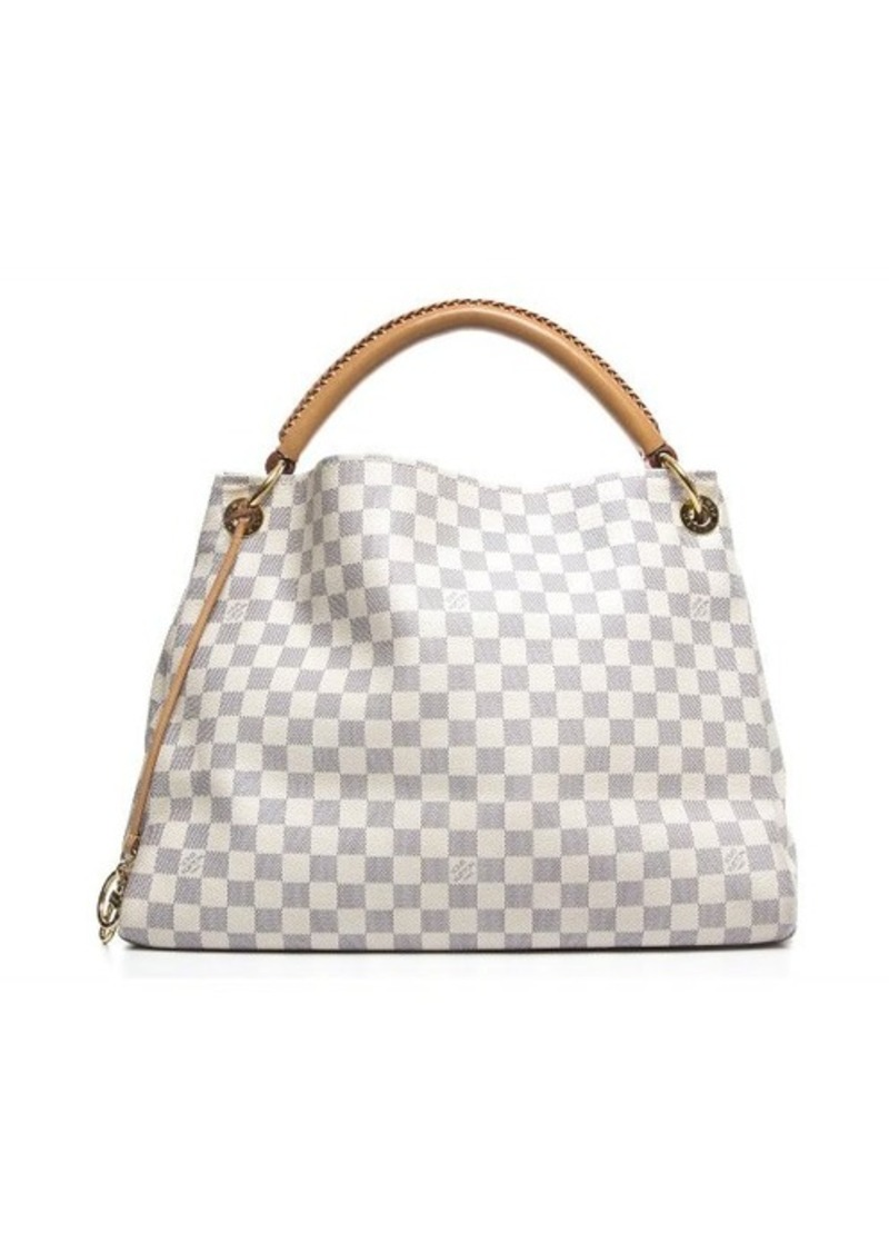 louis vuitton pre owned louis vuitton damier azur artsy mm bag handbags shop it to me. Black Bedroom Furniture Sets. Home Design Ideas