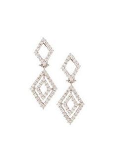 Luca Carati Pavé Diamond Drop Earrings