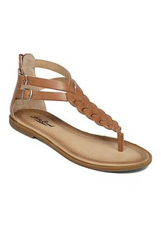 CARROLLE BRAIDED FLAT SAN