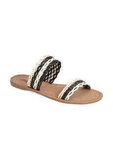 Lucky Brand 'Alddon' Woven Two Strap Sandal (Women)