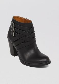 Lucky Brand Ankle Buckle Booties - Elwooodd