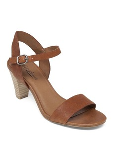Lucky Brand Ankle Strap Sandals - Pepperr Mid Heel