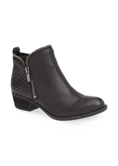 Lucky Brand 'Bartalino' Stud Embossed Leather Bootie (Women)