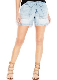 Lucky Brand Belted Denim Shorts