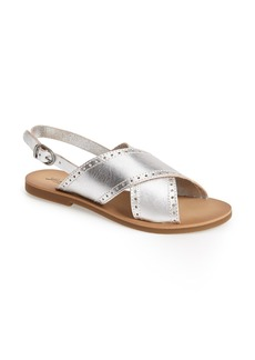 Lucky Brand 'Birchess' Leather Sandal (Women)