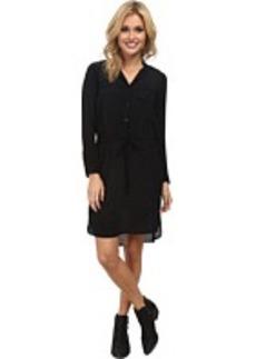 Lucky Brand Black Shirt Dress