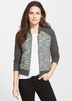 Lucky Brand Bomber Sweater Jacket