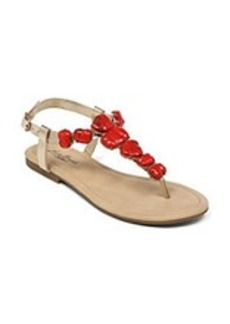 "Lucky Brand® ""Brynn"" Stone Embellished Sandals"