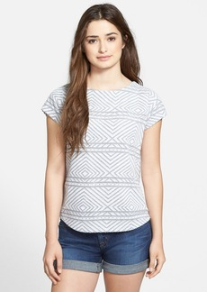 Lucky Brand Burnout Top