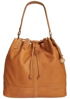Lucky Brand Carly Leather Bucket Bag
