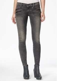 Lucky Brand Charlie Zipper-Detail Skinny Jeans, Vernon Wash