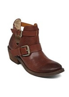 "Lucky Brand® ""Chaves"" Casual Ankle Booties - Oxblood"