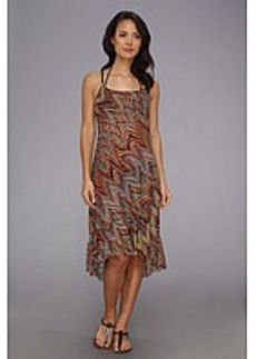 Lucky Brand Color Splash Adjustable Straps Dress Cover-Up