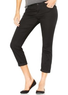 Lucky Brand Cropped Skinny Jeans, Black Wash