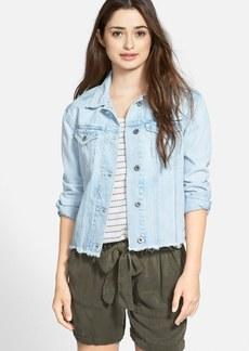 Lucky Brand Cutoff Denim Jacket