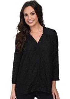 Lucky Brand Darcey Embroidered Top