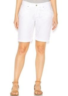 Lucky Brand Denim Bermuda Shorts, White Wash