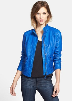 Lucky Brand 'Downtown Gypsy' Leather Jacket