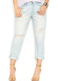 Lucky Brand Dylan Destroyed Boyfriend Jeans, Geelong Wash