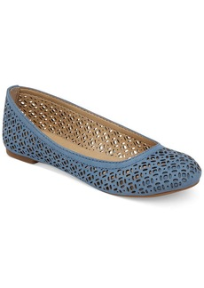 Lucky Brand Eastly Laser Cut Flats